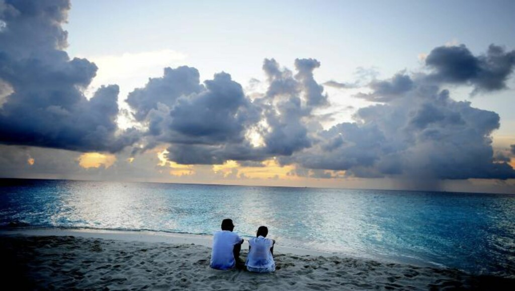 MALDIVENE: Mange nordmenn drar til Maldivene for å nyte late dager med kritthvite strender og krystallklart vann. Foto: THOMAS RASMUS SKAUG