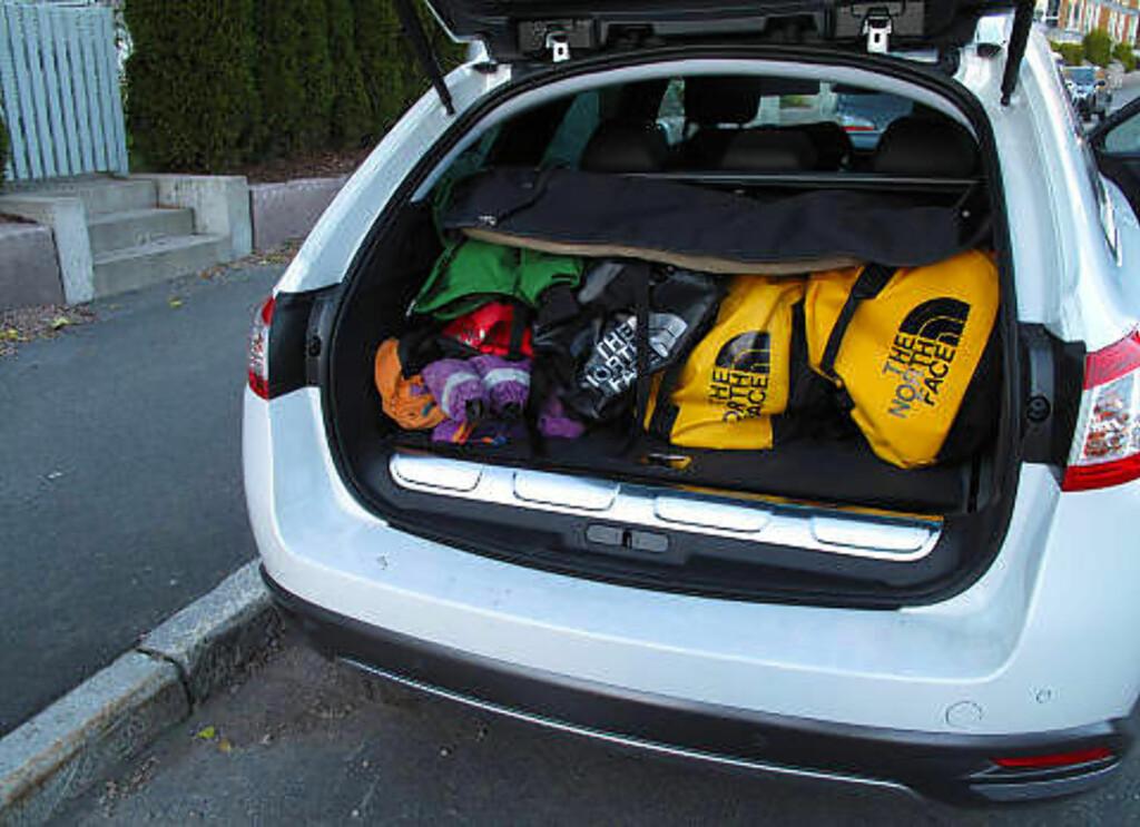 Her er bilene med størst bagasjeplass - Dagbladet