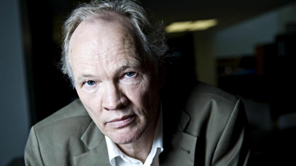 HISTORIE SOM HASTER: Tor Bomann-Larsen fremskynder sjette bind i biografiverket om kong Haakon. Foto: Benjamin A. Ward/Dagbladet