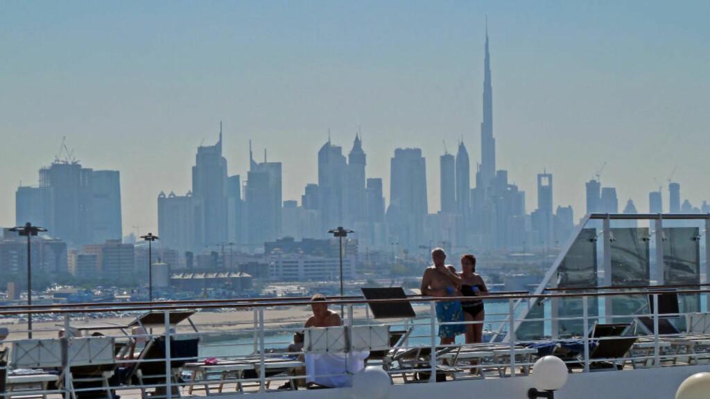 DUBAI: Ett av vinterens heteste cruise-reisemål er Persiagolfen, med et besøk i eventyrbyen Dubai. Foto: EIVIND PEDERSEN