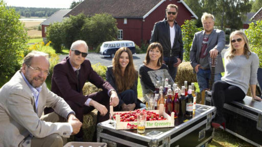 MYE PÅ TV: Kurt Nilsen, Morten Abel, Magnus Grønneberg, Ole Paus, Marion Ravn, Anita Skorgan og Lene Marlin er med i årets runde med «Hver gang vi møtes». Foto: TV 2