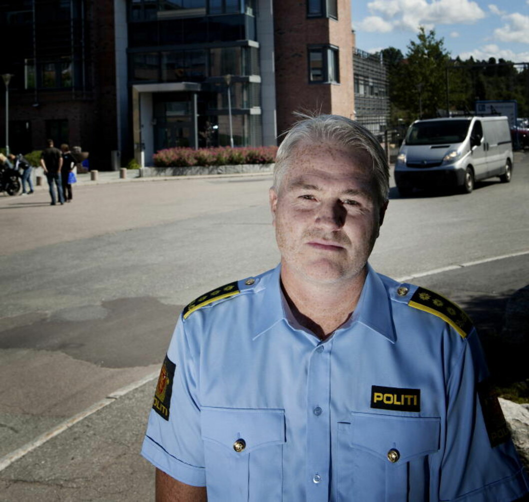 <strong>ORGANISERT KRIMINALITET:</strong> Eivind Borge fra Kripos sier at man ser at smuglingen har tilknytning til organisert kriminalitet i Norge og i utlandet.  - Dermed bidrar man til å finansiere organisert kriminalitet når man kjøper disse pillene, sier Borge. Foto: ANITA ARNTZEN/DAGBLADET