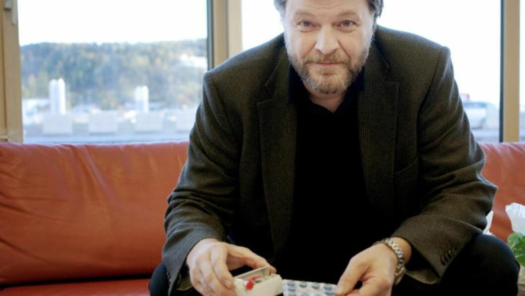 <strong>- ALVORLIG:</strong> - Det er et alvorlig funn at ulovlig import av legemidler ser ut til å øke, sier medisinsk fagdirektør i Legemiddelverket, Steinar Madsen. Foto: TORBJØRN GRØNNING/DAGBLADET