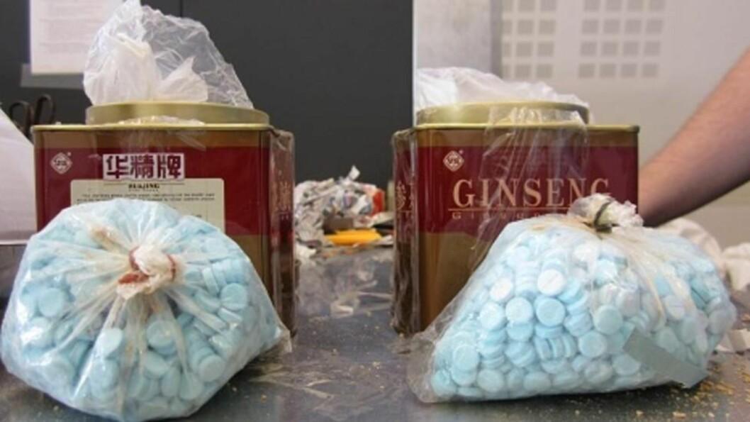 <strong>SMUGLER MEDISINER:</strong> SMUGLER VALIUM: I 2012 hadde politiet 5 2629 beslag av benzodiazepiner. Beslagene utgjorde formidable 1.285 000 tabletter. Beslaget av er blant de høyeste noen gang. Her ser man et valiumbeslag fra 2012. Foto: TOLLVESENET