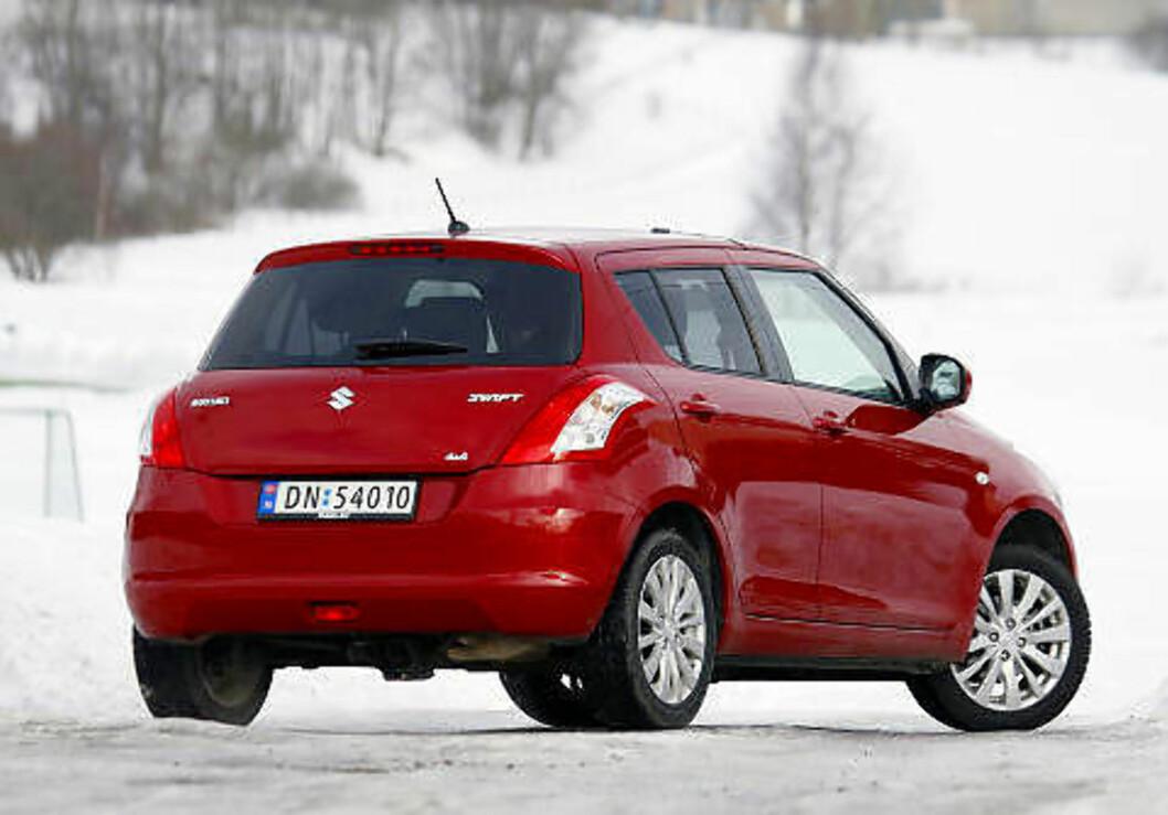 SUZUKI SWIFT: Rimelig småbil, største pluss er framkommeligheten.