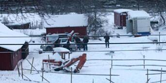 image: Væpnet politiaksjon da sju hester ble hentet