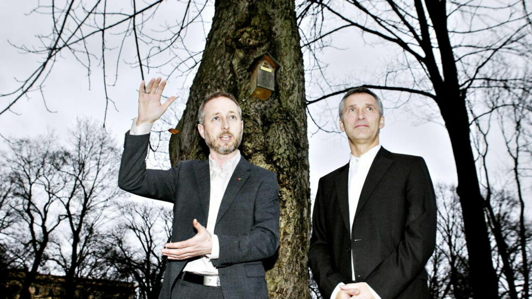 <strong>TRENGER ET LØFT:</strong> Bård Vegar Solhjell og venstre trenger et løft, og det kan Jens Stoltenberg og oljeletingen gi dem. Foto: NINA HANSEN