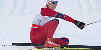 image: Brun-Lie på pallen i prøve-OL