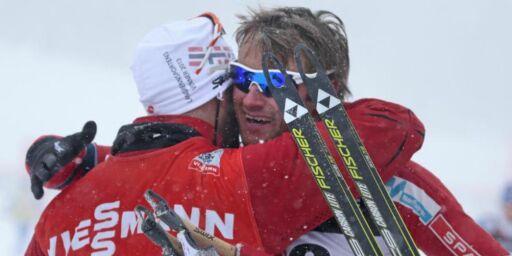 image: - Petter var så nedkjørt at Kine Beate gikk fra ham på rulleski