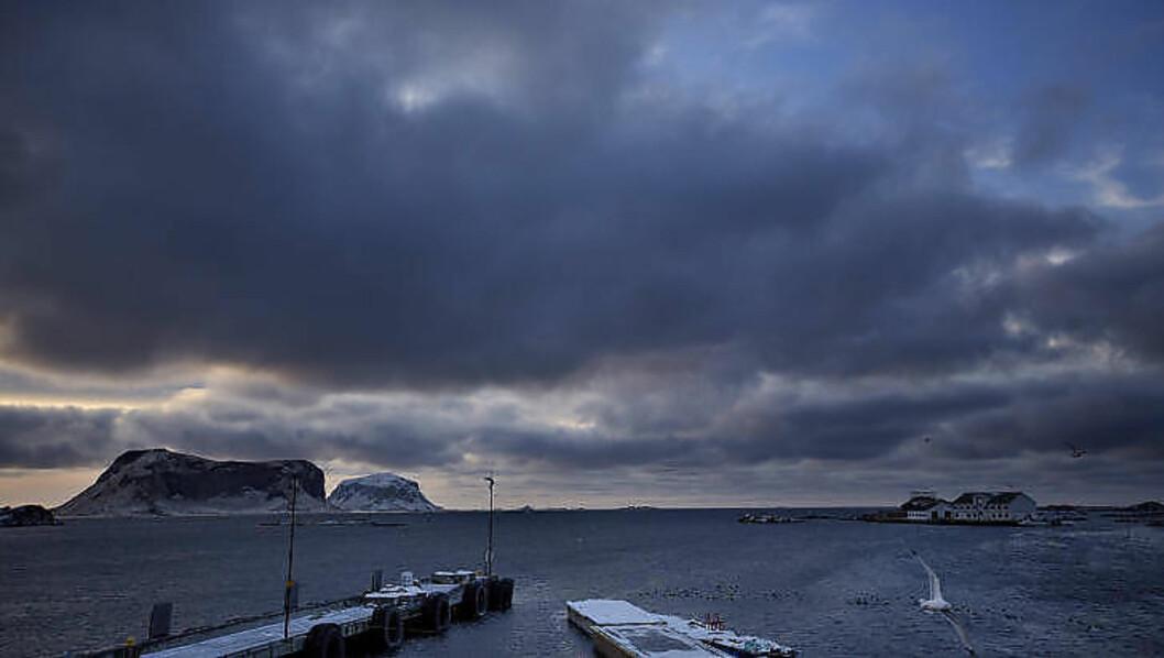 <strong>HIMMEL OG HAV:</strong> - Jeg pleier å si at vi er plassen i Norge med mest himmel, sier ordfører Tor Arne Andreassen. Foto: ANITA ARNTZEN