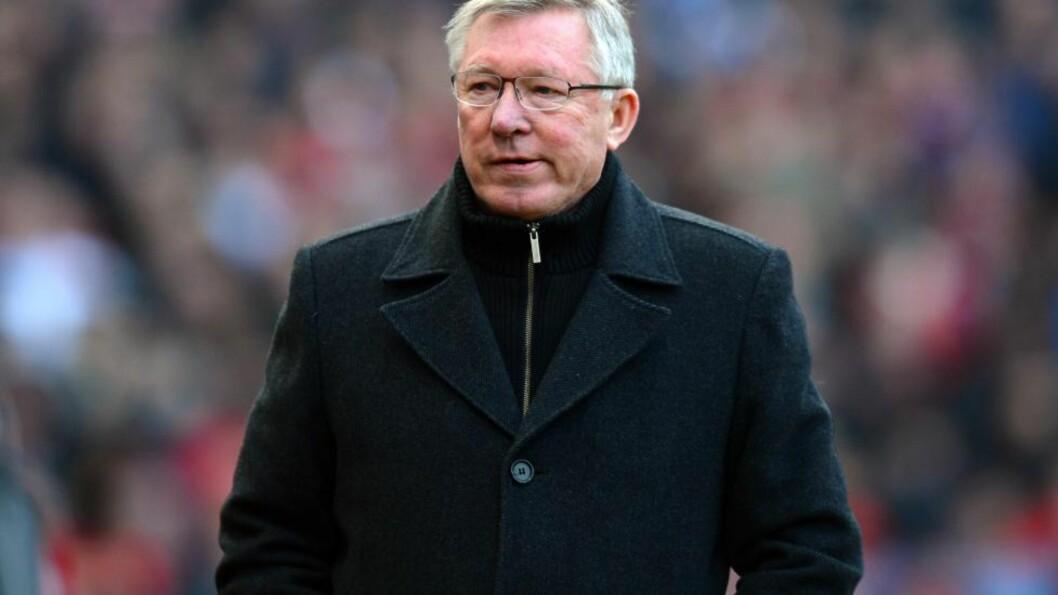 <strong>KORT TID:</strong> Sir Alex Ferguson vil gjøre om på kampoppsettet, så Manchester United får en ekstra hviledag før de skal ut i kamper i Champions League. Foto: NTB Scanpix