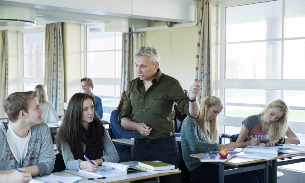 Bedre resultater: En svensk studie viser at i kommuner hvor flere velger privatskole, er resultatene på nasjonale og internasjonale skoler bedre, skriver kronikkforfatteren. Foto: Berit Roald / NTB scanpix