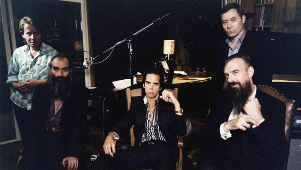 Gi Nick Cave ei notatblokk, og du får vakker musikk