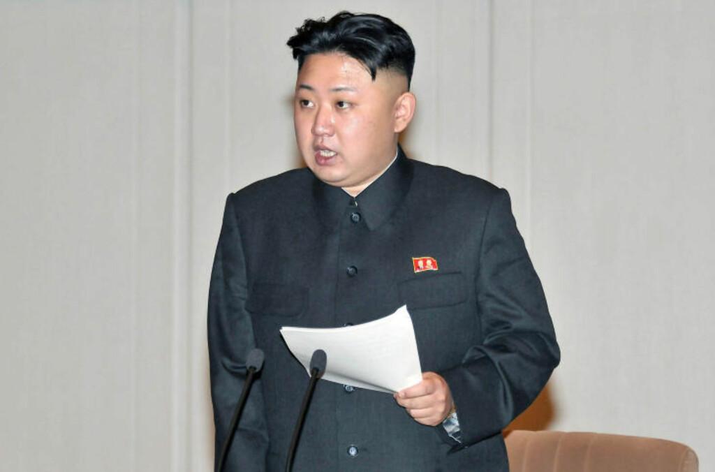 FORTSATT I 20-ÅRA?  Det er få som vet nøyaktig hvor gammel  Kim Jong-un er. Ifølge Wikipedia ble han trolig født 8. januar 1983 eller 1984. Han er da enten 29 eller 30 år gammel. Foto: Scanpix