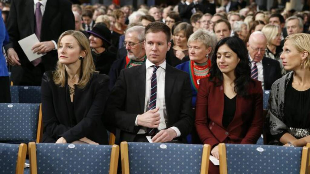 FIKK GJENNOMGÅ: Både AUF-leder Eskil Pedersen og kulturminister hadia Tajik er nevnt av den trusselsiktede 27-åringen. Foto: Cornelius Poppe / NTB scanpix