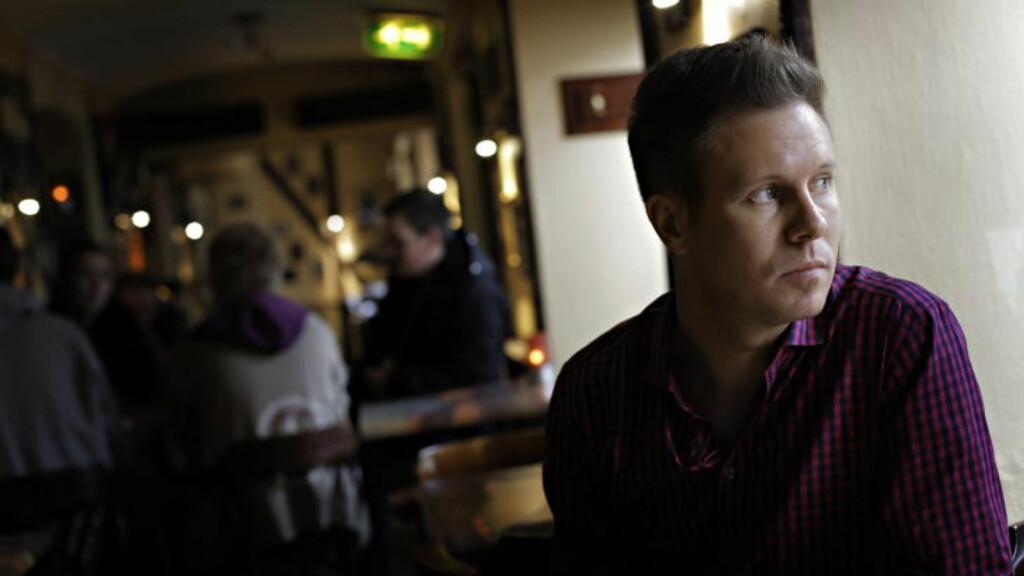 FÅR MASSIV KRITIKK: Fra den trussel-siktede mannen som nå er inne til avhør hos politiet. Foto: Frank Karlsen / Dagbladet