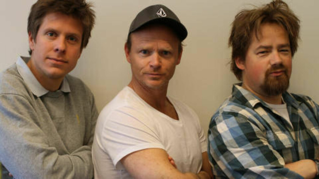 KRONIKKFORFATTER: Ole-Martin Ihle, Harald Eia og Nils Brenna.