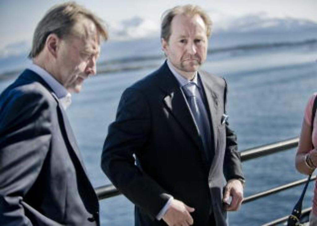 MEDLEMMER: Bjørn Rune Gjelsten og Kjell Inge Røkke. Foto: Thomas Rasmus Skaug / Dagbladet.