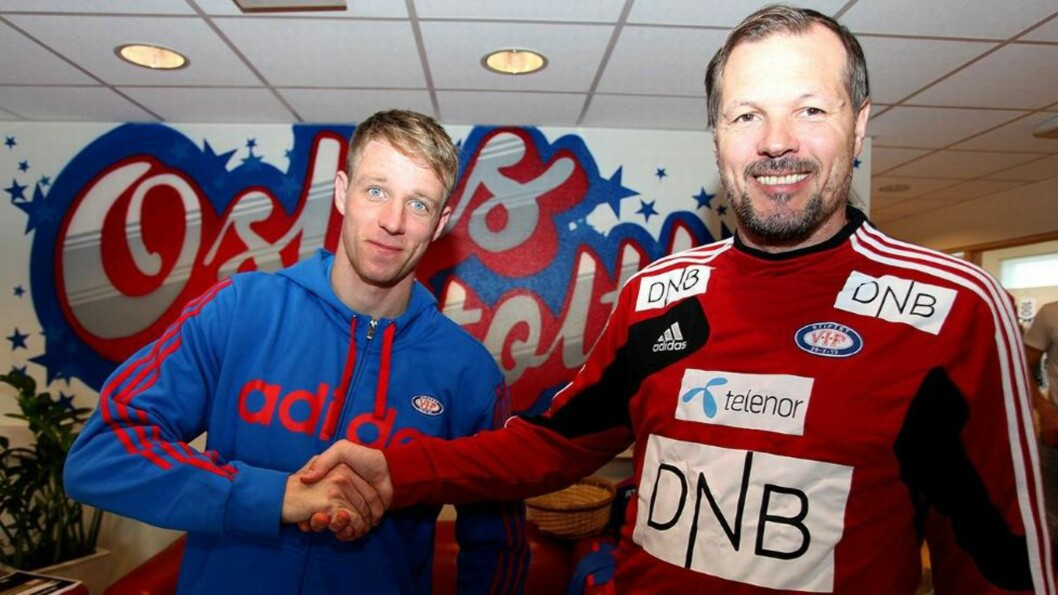 <strong>ENIGE:</strong> Jan Gunnar Solli har kommet til enighet med Kjetil Rekdal og Vålerenga om en kontrakt ut sesongen. Foto: VIF Media