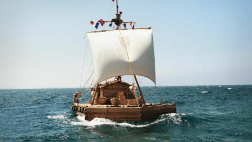<strong>Kon-Tiki:</strong> Thor Heyerdahl jr. mener filmen om Kon-Tiki-ekspedisjonen yter farens historie rettferdighet. Foto: Ntb Scanpix