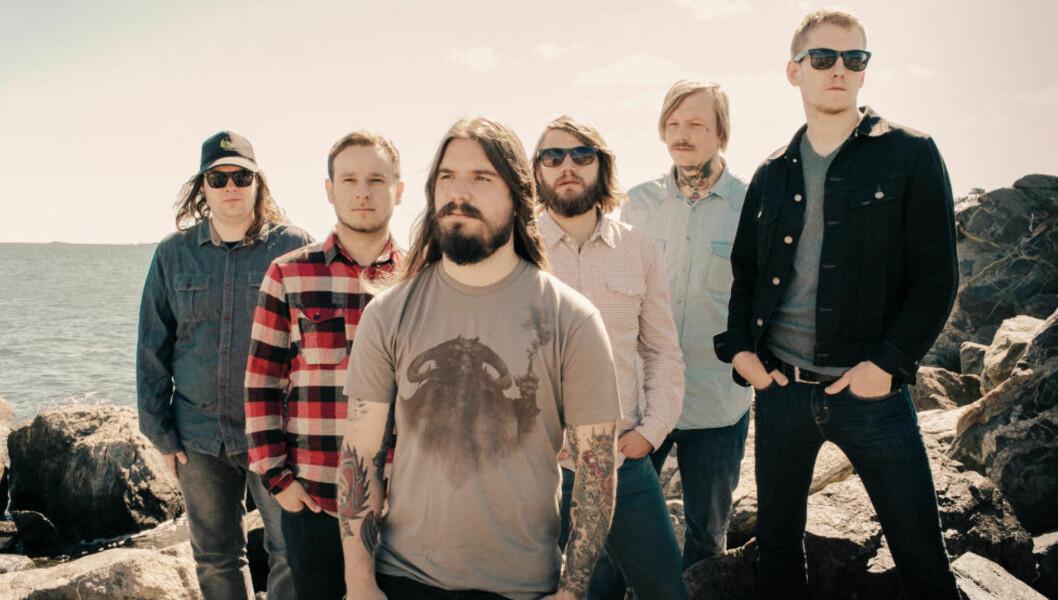 <strong>HARDCORE-SUKSESS:</strong> Rogalandsbandet Kvelertak er ute med ny singel, «Bruane brenn» - og neste måned kommer andrealbumet «Meir». Så blir det en omfattende vårturné, før sommeren og festivaltida setter inn. Foto: Sony Music