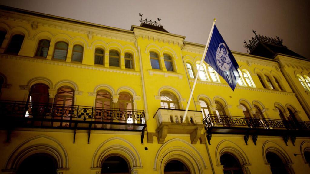 GIR TIL HØYRE: Flere av selskapene som bidrar økonomisk til Høyres valgfond har eiere eller styremedlemmer som er medlem i Norske Selskab. Foto: Tomm W. Christiansen / Dagbladet