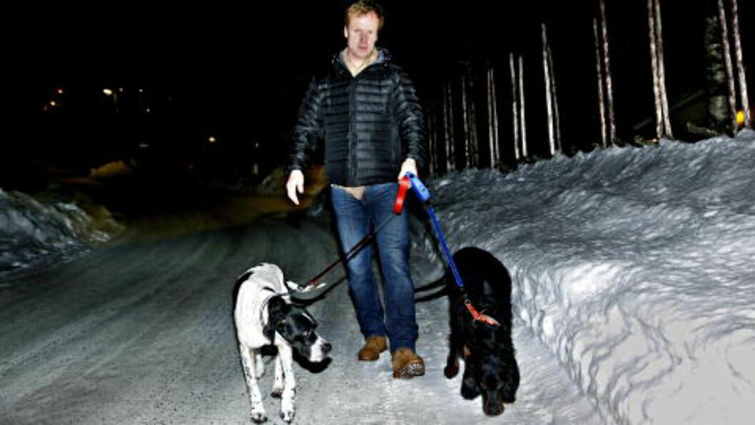 <strong>IMPONERT:</strong> Bjørn Dæhlie var glad for å få noe annet enn blodverdi-snakk å tenke på. Foto: Jacques Hvistendahl
