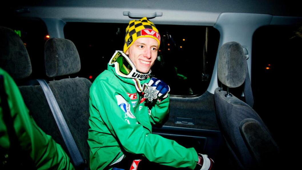 <strong>SYK:</strong> Sølvvinner fra VM i skiflygning i Vikersund i fjor, Rune Velta, har blitt syk. Foto: Thomas Rasmus Skaug / Dagbladet