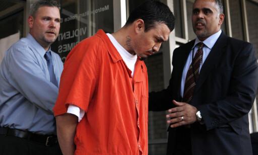 DØMT, SÅ SLUPPET FRI: Ingmar Guandique ble i 2011 dømt til 60 år i fengsel for drapet på Levy, men i 2016 besluttet påtalemyndigheten at de ikke lenger hadde tilstrekkelig bevis. Foto: AP Photo/Jacquelyn Martin, File