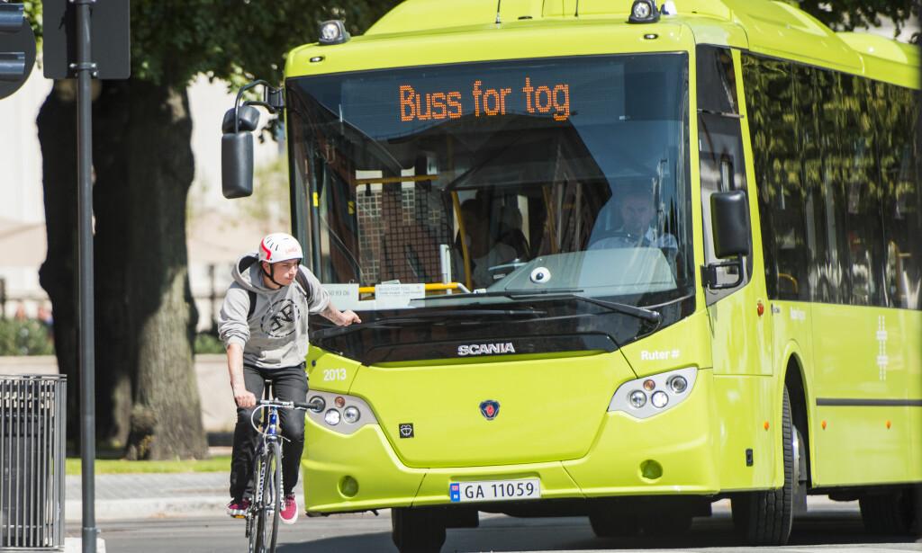 FARE: Ved å redusere hastigheten fra 50 km/t til 30 km/t, reduseres sannsynlighet for dødelig utfall ved påkjørsel av myk trafikant fra 80 til 10 prosent, skriver artikkelforfatteren. Foto: Fredrik Varfjell / NTB scanpix