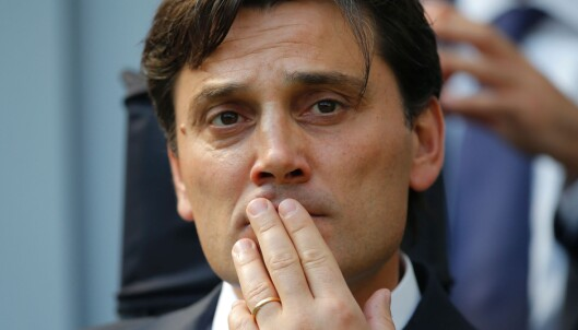 <strong>MILAN-MANAGER:</strong> Vincenzo Montella. Foto: AFP PHOTO / MARCO BERTORELLO