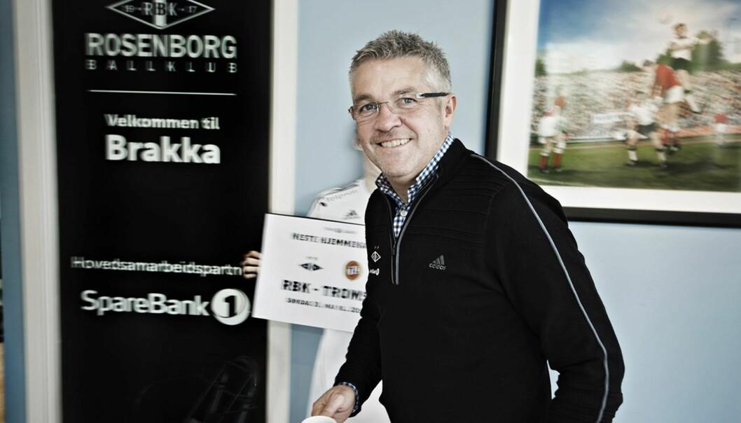 <strong>SUKSESS:</strong> Kåre Ingebrigtsen jakter på The Double med Rosenborg for andret året på rad. Klokka 20.00 i kveld venter Bodø/Glimt i cupens semifinale på Lerkendal. Foto: HANS ARNE VEDLOG