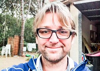 Alf Berg, forfatter og reisejournalist.