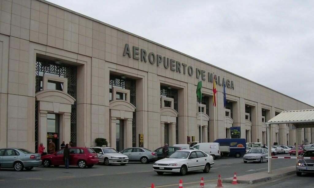 FLYPLASS: En 51 år gammel britisk mann er funnet død på flyplassen i Málaga i Spania. Foto: Terry Wha / Wikimedia Commons
