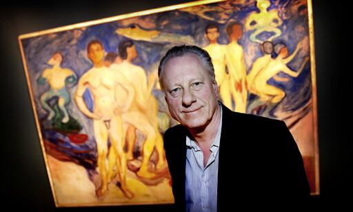 VIL UT I VERDEN: Museumsdirektør Stein Olav Henrichsen jobber om dagen med internasjonal promotering av Munch-museet  Foto: Jacques Hvistendahl / Dagbladet