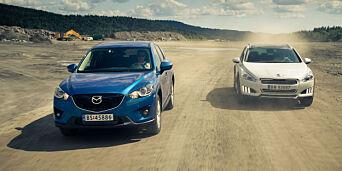 image: De er to av de mest populære brukt-SUVene, men hvilken er best? Vi fant vår favoritt raskt