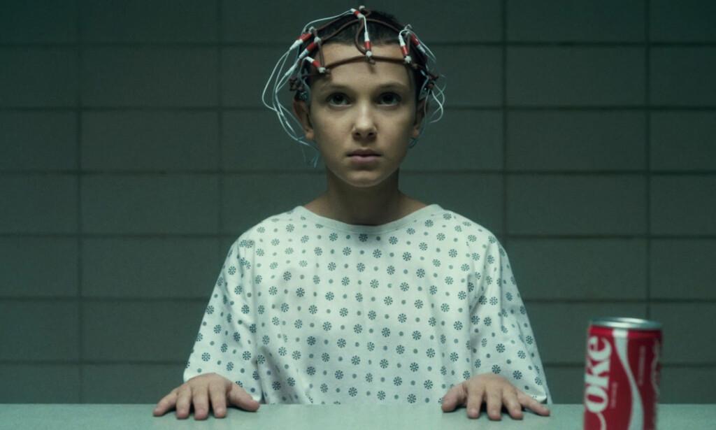POPULÆR KARAKTER: Browns karakter i serien, Eleven, er en av seriens mest populære. Foto: Netflix
