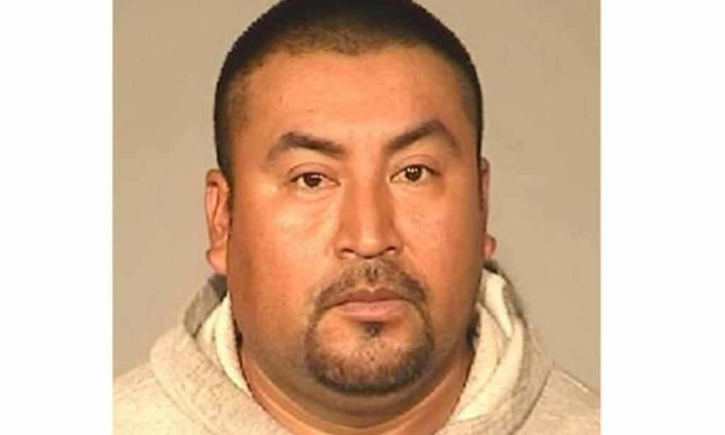 DØMT TIL 1503 ÅR: 41 år gamle Rene Lopez ble fredag forrige uke dømt til 1503 år i fengsel etter å ha blitt funnet skyldig i 186 seksuelle overgrep. Foto: Fresno Police Department