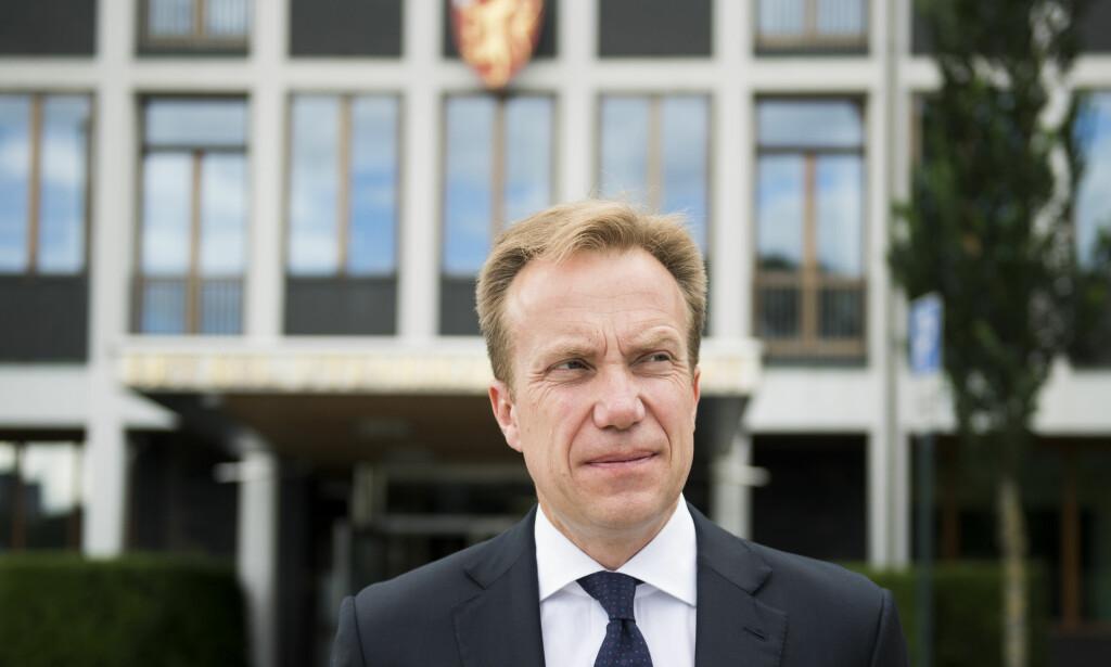 Nato hindrer ikke: Det er ikke aktuelt for regjeringen å gå på akkord med våre forpliktelser i Nato, men dette er ikke til hinder for en aktiv norsk rolle for nedrustning og ikke-spredning, skriver Børge Brende. Foto: Jon Olav Nesvold / NTB scanpix
