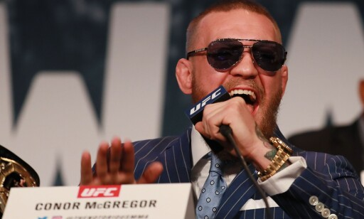 FRITTALENDE: Conor McGregor. Foto: Michael Reaves/Getty Images/AFP