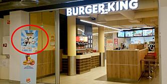 Her gjør Burger King noe de ikke får lov til