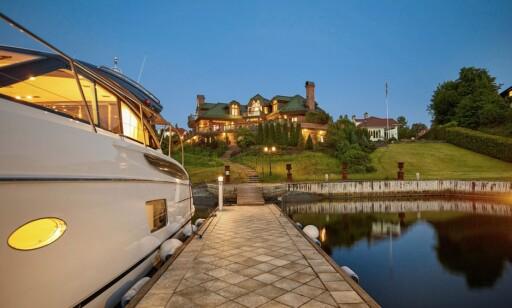 SELGES: Bolig hvor Justin Bieber bodde sist han var i Norge ligger ute til salgs for 65 millioner kroner. Foto: Skjermdump: JamesEdition.com