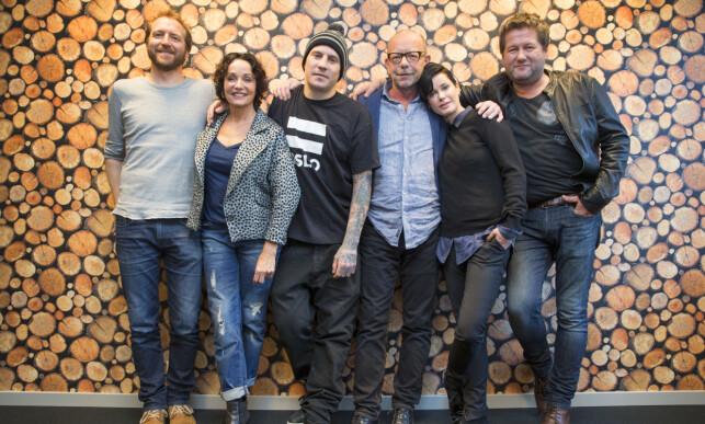 STJERNETREFF: OnklP var en av artistene i «Hver gang vi møtes» i 2015, sammen med Silje Nergaard, Thom Hell, Lene Nystrøm, Jonas Fjeld, Inger Lise Rypdal og Bjarne Brøndbo. Foto: Håkon Mosvold Larsen / NTB scanpix