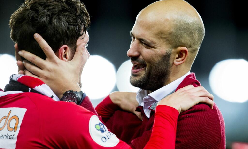 SUKSESSTRENER: Portugisiske Luis Pimenta ledet torsdag kveld Kongsvinger til klubbens første cupfinale. Foto: Scanpix