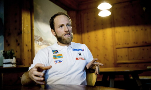 ANBEFALING: Forskeren Oskar Frånberg anbefaler Martin Johnsrud Sundby og de norske langrennsløperne å prøve ut oksygenmaskene. Foto: Bjørn Langsem / Dagbladet