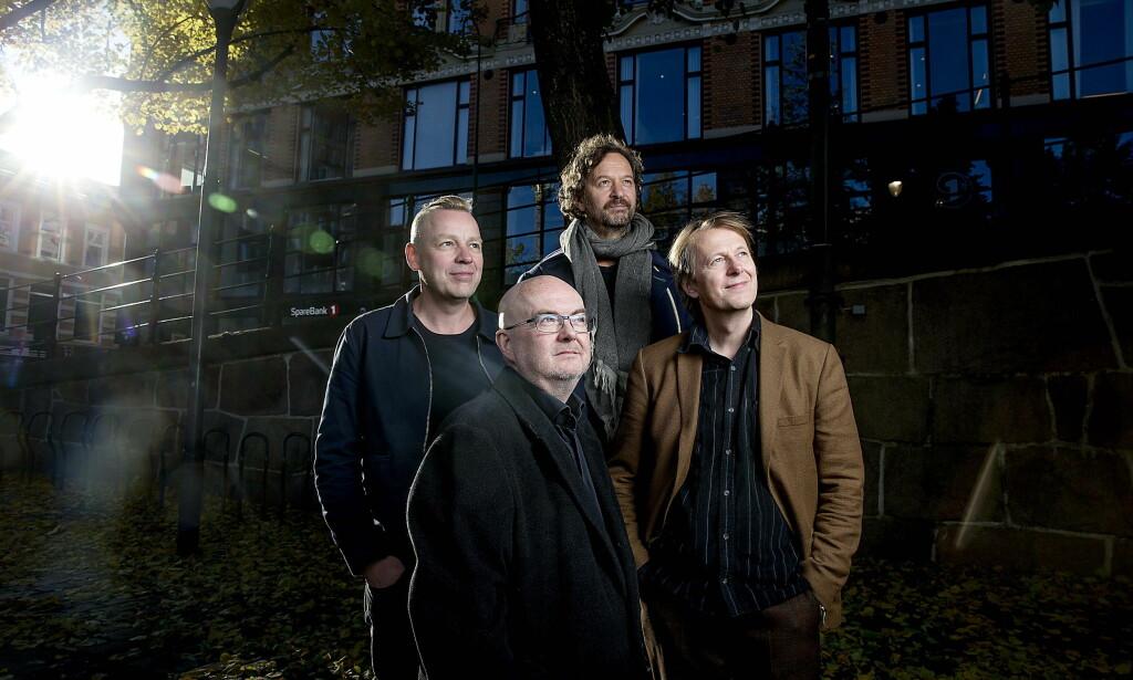 PEILING PÅ SEILING: DeLillos har holdt det gående siden 1984. FOTO: Bjørn Langsem