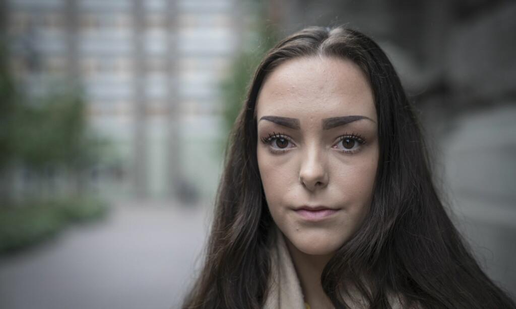 REAGERER: Andrea Voll Voldum skjønner ikke hvordan den 17 år gamle gutten kunne frifinnes for voldtekt. Foto: Øistein Norum Monsen / Dagbladet