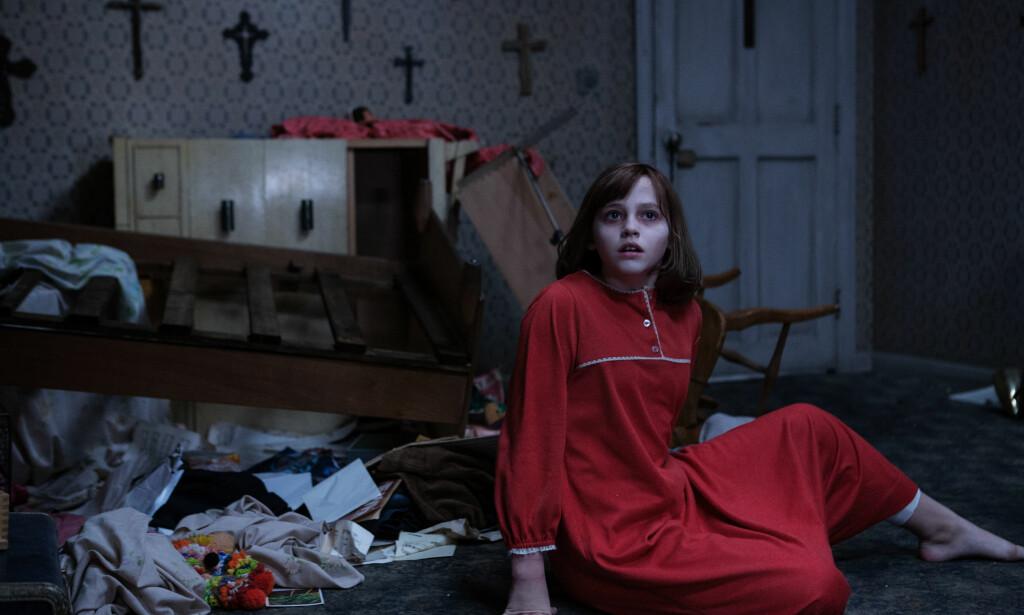 GRØSSUKSESS: «The Conjuring 2» fikk et stort publikum, om ikke så gode kritikker. Foto: Filmweb