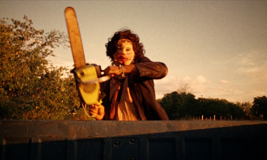 INSPIRERT: «Motorsagmassakren» er inspirert av massemorderen Ed Gein, som riktignok aldri brukte motorsag. Foto: Filmweb