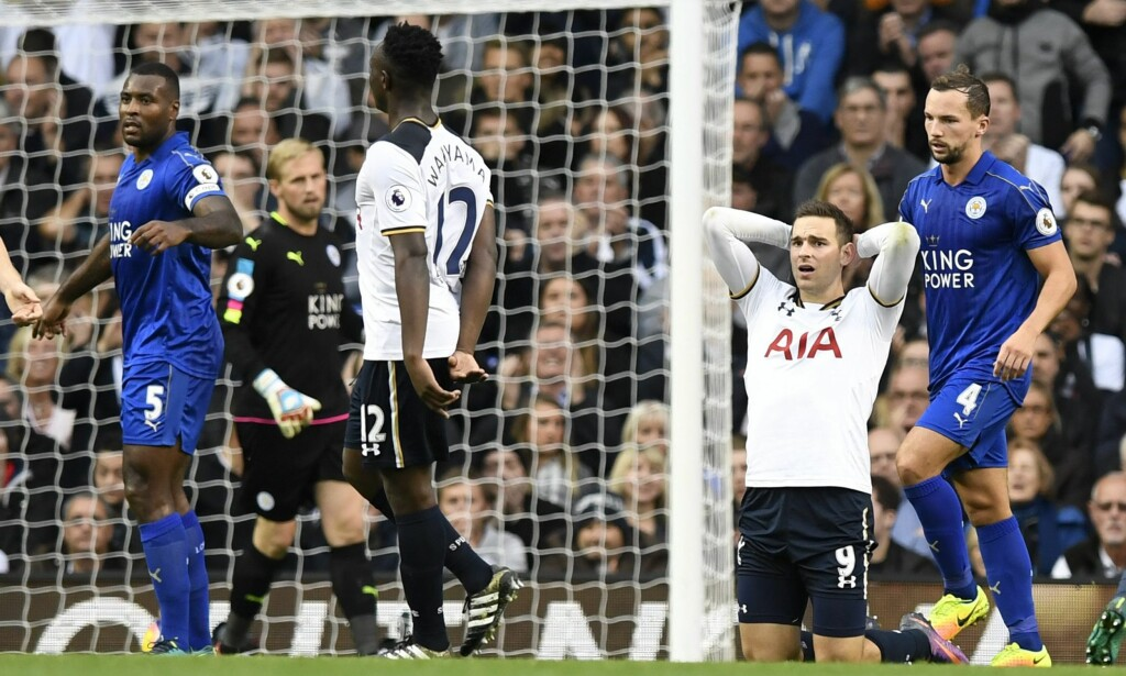 UAVGJORT: Tottenham og Leicester delte poengene. Foto: NTB Scanpix